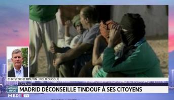Madrid déconseille Tindouf à ses citoyens