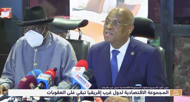 المجموعة الاقتصادية لدول غرب إفريقيا تبقي على العقوبات المفروضة على مالي