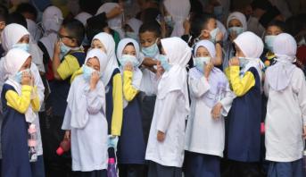 حرائق الغابات تتسبب في إغلاق آلاف المدارس في ماليزيا وإندونيسيا