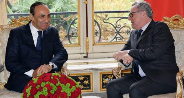 المالكي يتباحث بباريس مع رئيس الجمعية الوطنية الفرنسية