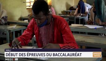 Mali: début des épreuves du baccalauréat