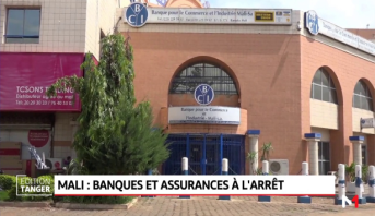 Mali: Banques et assurances à l'arrêt