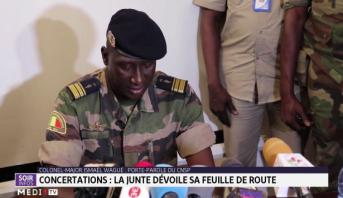 Mali: la junte dévoile sa feuille de route