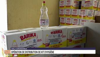 Covid-19: opération de distribution de kits d'hygiène au Mali