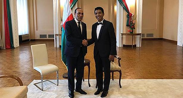 المالكي يمثل الملك محمد السادس في مراسيم تنصيب الرئيس الملغاشي الجديد