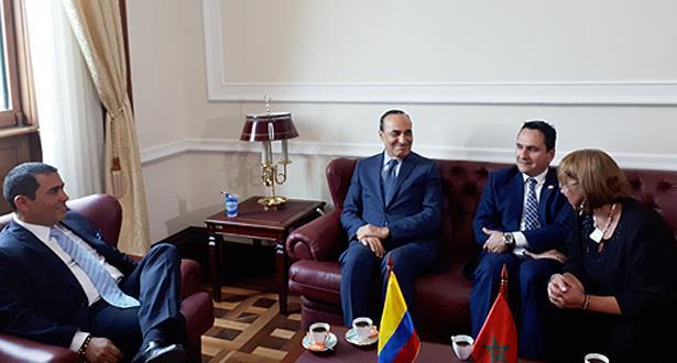 بوغوتا .. المالكي يجري مباحثات مع رئيسي مجلسي الكونغرس الكولومبي