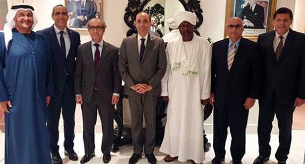 رئيس مجلس النواب يلتقي السفراء العرب المعتمدين بالعاصمة الأيرلندية