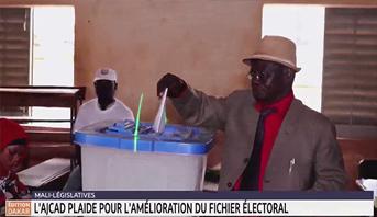 Mali: l'AJCAD plaide pour l'amélioration du fichier électoral