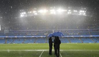 رسميا .. تأجيل مباراة السيتي ووست هام بسبب الأحوال الجوية