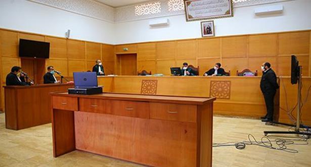 استفادة 6098 معتقلا من 306 جلسة عن بعد عقدتها مختلف محاكم المملكة