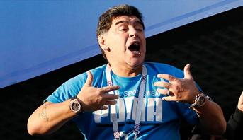 مونديال 2018.. الفيفا يدين بشدة انتقادات مارادونا بشأن الحكم الأمريكي مايك غايغر