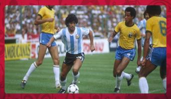 مونديالنا > زووم على المنتخب الأرجنتيني ، جلسة مونديالية مع دييغو أرماندو مارادونا و ميكرو المونديال