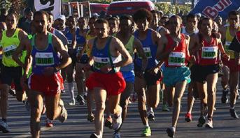 Marathon international de Marrakech: le Marocain Hicham Laqouahi remporte la 31è édition