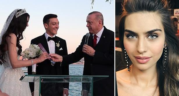 أوزيل يعقد قرانه على نجمة مسلسل تركي شهير