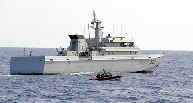 Saisie par la Marine Royale de plus de 4 tonnes de chira au large d'Assilah
