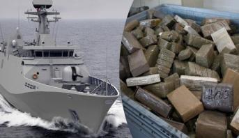 البحرية الملكية تحجز أزيد من 500 كلغ من مخدر الشيرا بعرض سواحل طنجة