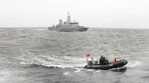 البحرية الملكية تنقذ عشرات المهاجرين عرض ساحل السعيدية