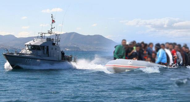 Méditerranée: La Marine Royale a secouru 140 candidats à l'émigration clandestine lors des dernières 24 heures (source militaire)