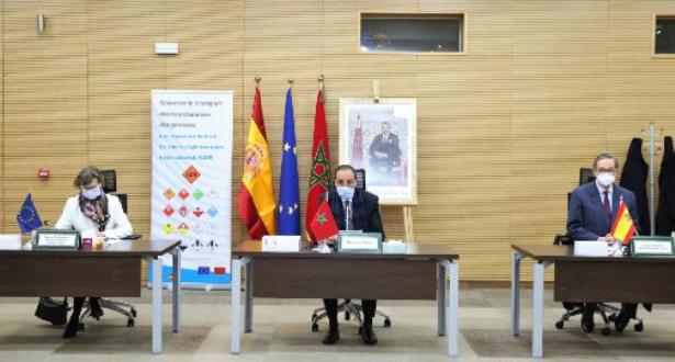 المغرب - إسبانيا .. اختتام عقد توأمة لتأمين نقل البضائع الخطيرة عبر الطرق