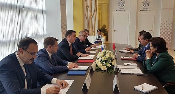 مباحثات بين وزيري الفلاحة الروسي والمغربي لتعزيز التعاون بين البلدين