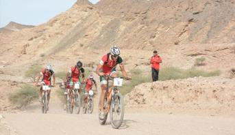 المنتخب الوطني المغربي يتألق في البطولة العربية الثالثة للدراجات الجبلية