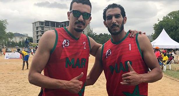 المغرب يفوز بأبوجا ببطولة إفريقيا للأمم لكرة الطائرة الشاطئية