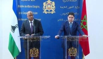 """المغرب وليسوتو يتفقان على فتح سفارتيهما """"مستقبلا """" لتعزيز تعاونهما الثنائي"""
