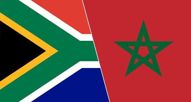 صحيفة جنوب إفريقية : المغرب وجنوب إفريقيا يطبعان علاقاتهما رسميا