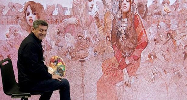 الفنان التشكيلي المغربي عبد الباسط بن دحمان في ذمة الله