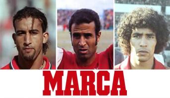 """استفتاء """"ماركا"""" حول أفضل لاعب في تاريخ المغرب"""
