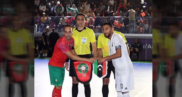 """أمم إفريقيا لـ""""الفوتسال"""" .. المغرب يهزم ليبيا في العيون"""