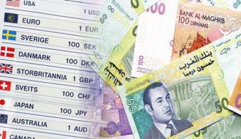 أسعار صرف العملات الأجنبية مقابل الدرهم الاثنين 22 أكتوبر