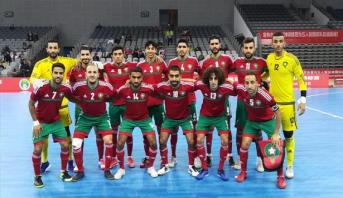 المغرب يحتل الرتبة الثانية في الدوري الدولي لكرة القدم داخل القاعة بالصين