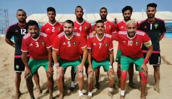 المنتخب الوطني لكرة القدم الشاطئية يفوز على نظيره التونسي