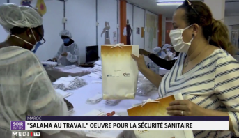 """""""Salama au Travail"""" oeuvre pour la sécurité sanitaire"""