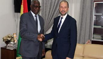 Maroc/Guinée:  le suivi des accords de coopération au centre d'une séance de travail à Conakry