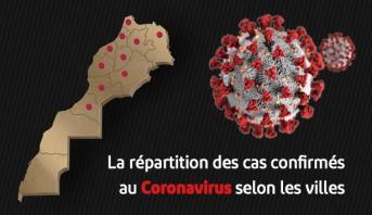 Coronavirus : la répartition des cas confirmés région par région