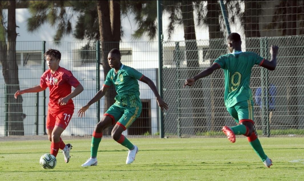 المنتخب المغربي لأقل من 20 سنة في تجمع إعدادي بالسعيدية