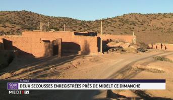 Maroc: la terre a tremblé dans la province de Midelt