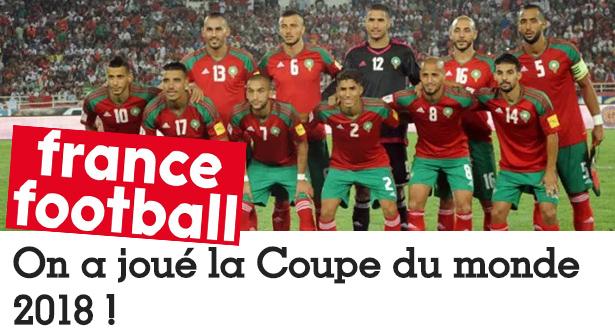 """""""فرانس فوتبول"""" تفاجئ المغاربة وتتوقع إقصاء البرتغال في المونديال"""