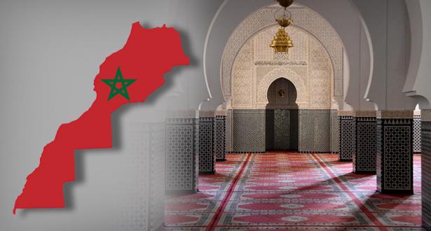 لوائح المساجد المفتوحة لإقامة صلاة الجمعة والصلوات الخمس حسب كل جهة