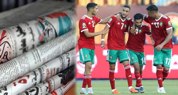 عناوين صحف مصرية بعد فوز المغرب على ناميبيا