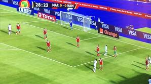 CAN: le Maroc et la Namibie dos à dos à la mi temps (0-0)