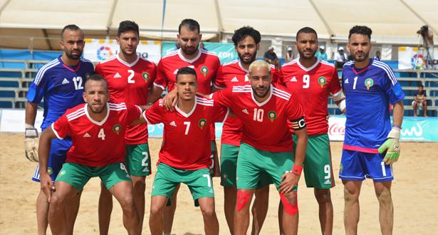 بعد هزم الجزائر بسباعية .. المغرب يهزم تونس في كرة القدم الشاطئية