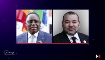 """الرئيس السنغالي يعبر عن شكره للملك محمد السادس على مبادرته """"المتضامنة والمنسقة """" لمواجهة جائحة (كوفيد-19)"""