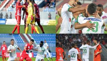 برنامج مباريات الفرق المغربية في المسابقات القارية