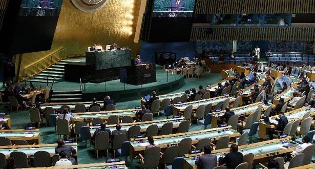 انتخاب المغرب نائبا لرئيس الجمعية العامة للأمم المتحدة