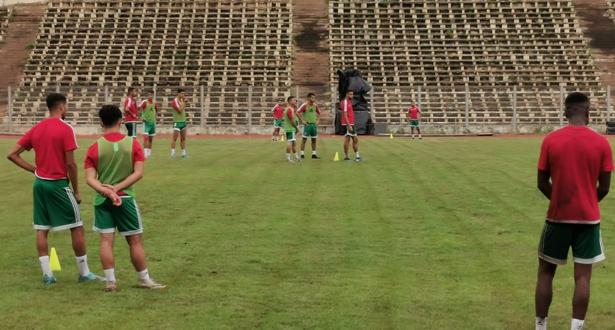 تصفيات كأس أمم افريقيا: حصة تدريبية للمنتخب المغربي قبل المباراة ضد مالي