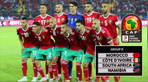 الترتيب النهائي لمجموعة المغرب