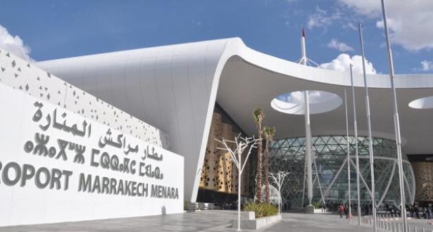 انخفاض حركة النقل الجوي بمطار مراكش المنارة خلال يناير
